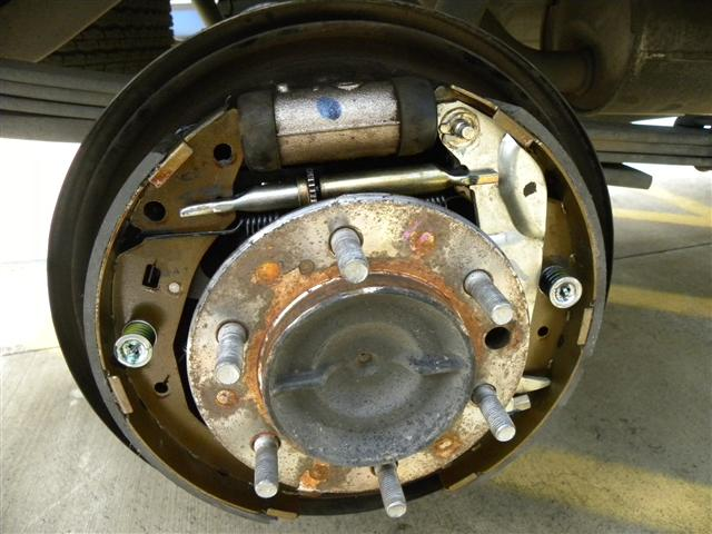 2006 Tundra Rear Brake Replacement