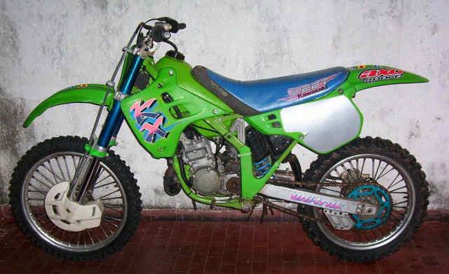 Kawasaki KX125 1991 Specs