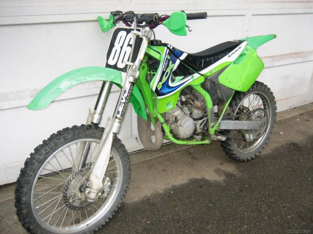Kawasaki KX125 1995 Specs and Pics