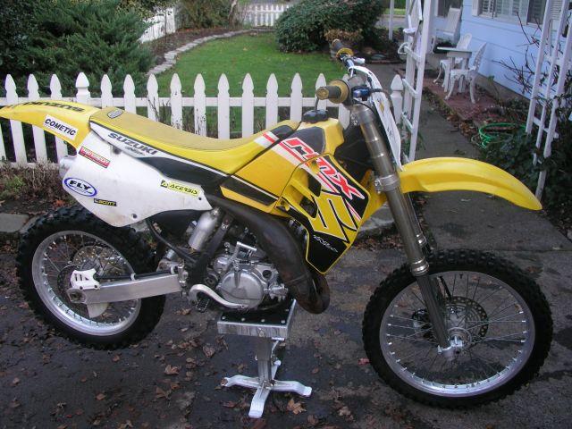 Suzuki Rm125 1992 Specs
