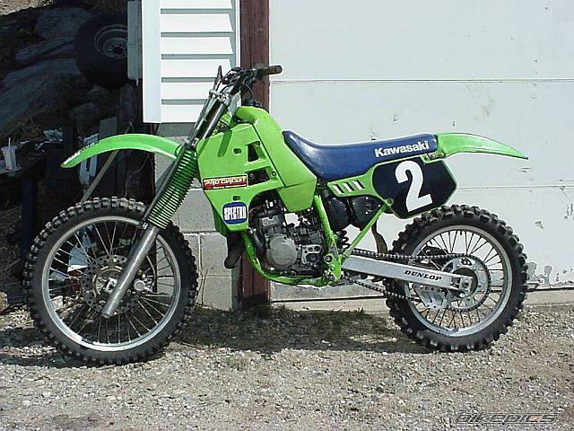 Kawasaki KX125 1988 Specs