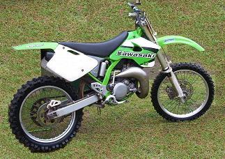 Kawasaki KX125 1998 Specs
